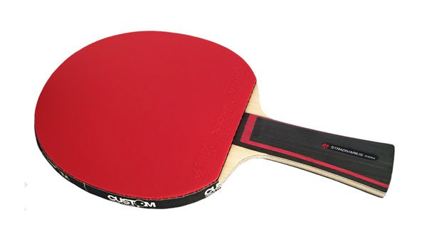 5 STRADIVARIUS + XIOM VEGA DF Table Tennis Bat