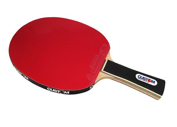 Custom Table Tennis Black Advance Table Tennis Bat