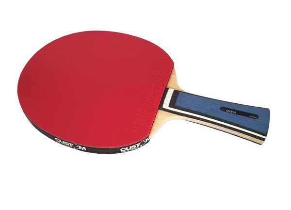 4V XIOM Diva Offensive - XIOM VEGA DF Table Tennis Bat