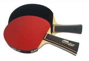 2 x Blutenkirsche Force Custom Table Tennis Bats