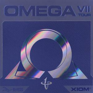 XIOM OMEGA VII TOUR Table Tennis Rubber