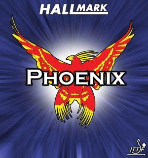 Hallmark Phoenix Long Pimple Table Tennis Rubber