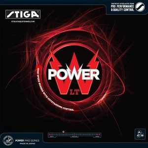 Stiga Power LT Table Tennis Rubber