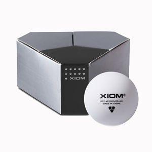 72 XIOM 3 Star ITTF Approved Seamless Poly Ball Table Tennis Balls