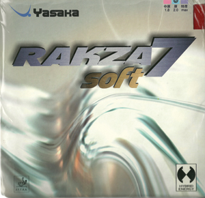 Yasaka Rakza 7 Soft Table Tennis Rubber