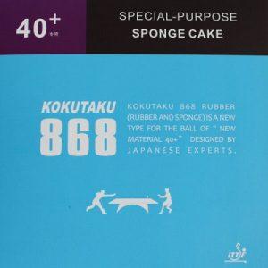 Kokutaku Blutenkirsche 868 40 + Table Tennis Rubber