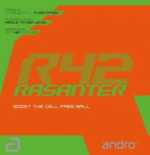Andro Rasanter R42 Table Tennis Rubber
