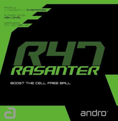 Andro Rasanter R47 Table Tennis Rubber