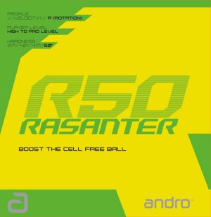 Andro Rasanter R50 Table Tennis Rubber