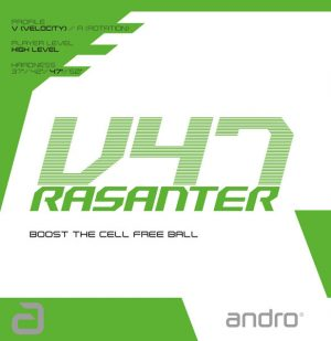 Andro Rasanter V47 Table Tennis Rubber
