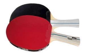 2 x Blutenkirsche Elite Custom Table Tennis Bats