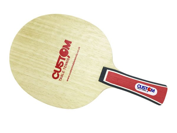 Custom Table Tennis Red Intermediate Table Tennis Blade