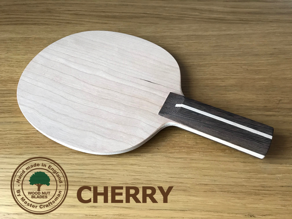Wood Nut Pure Defensive Table Tennis Blade - Cherry
