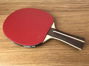 Wood Nut Hand Made Ako Allround with Xiom Vega Euro DF Table Tennis Bat