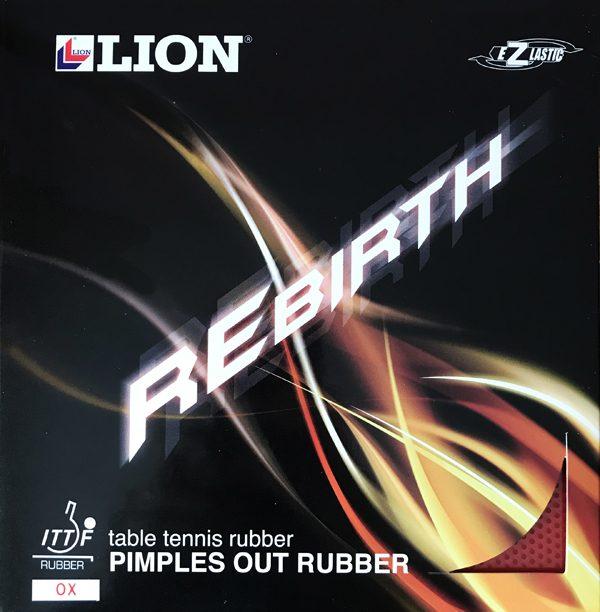 Lion Rebirth Medium Pimple Table Tennis Rubber