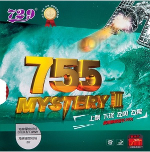 729 Friendship 755 MYSTERY III Long Pimple Table Tennis Rubber