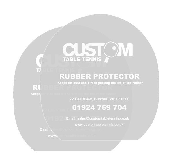 Custom Table Tennis Rubber Protectors ( Pair )