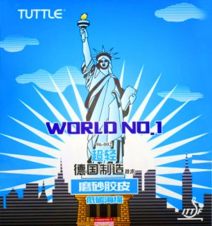 Tuttle World No.1 Factory Tuned Table Tennis Rubber