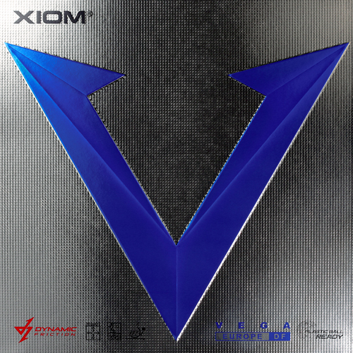 Xiom Vega Europe DF Table Tennis Rubber