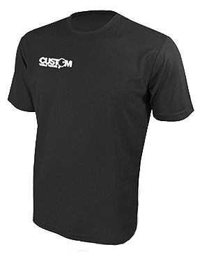 CUSTOM TABLE TENNIS PRO TRAINING SHIRT BLACK