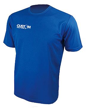CUSTOM TABLE TENNIS PRO TRAINING SHIRT BLUE