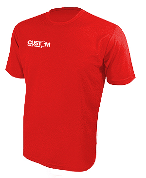 CUSTOM TABLE TENNIS PRO TRAINING SHIRT RED