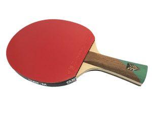 1FHXP Xiom Feel HX Pro Bat + Vega Rubbers Table Tennis Bat