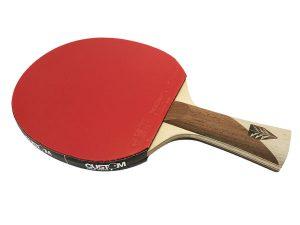 1FZX2 Xiom Feel ZX2 Bat + Vega Rubbers Table Tennis Bat