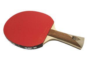 1FZX3 Xiom Feel ZX3 + Vega DF Rubbers - Table Tennis Bat