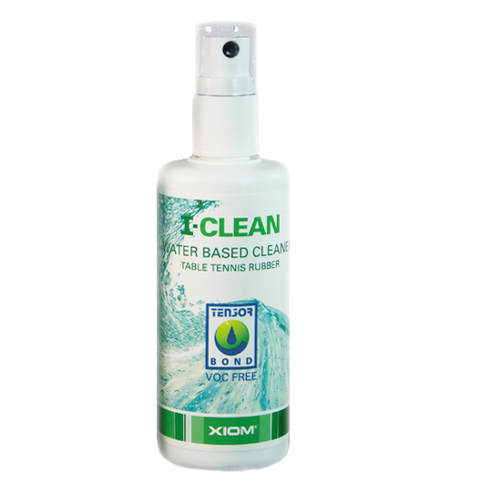 Xiom I-Clean Table Tennis Rubber Spray Cleaner 100ml