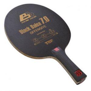 TSP Black Balsa 7.0 Offensive Table Tennis Blade