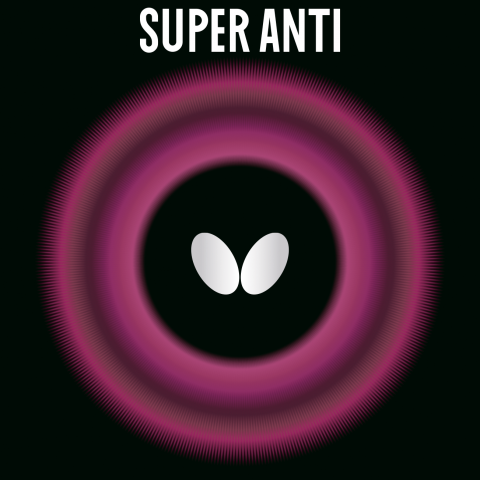 Butterfly Super Anti Spin Table Tennis Rubber