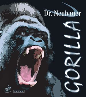 Dr Neubauer Gorilla Table Tennis Rubber