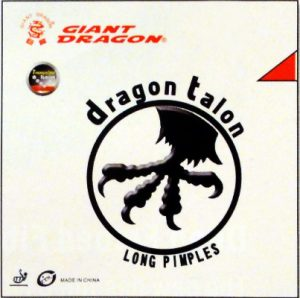 Giant Dragon Dragon Talon Long Pimple Table Tennis Rubber
