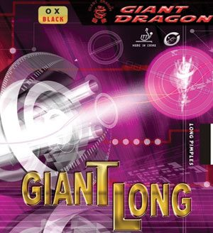 Giant Dragon Giant Long Pimple Table Tennis Rubber