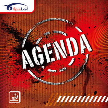 SpinLord Agenda Long Pimple Table Tennis Rubber