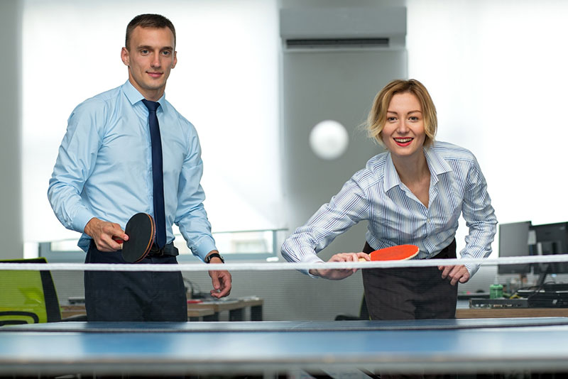 7 Reasons Why Table Tennis Is Good For Your Workplace Custom Table Tennis