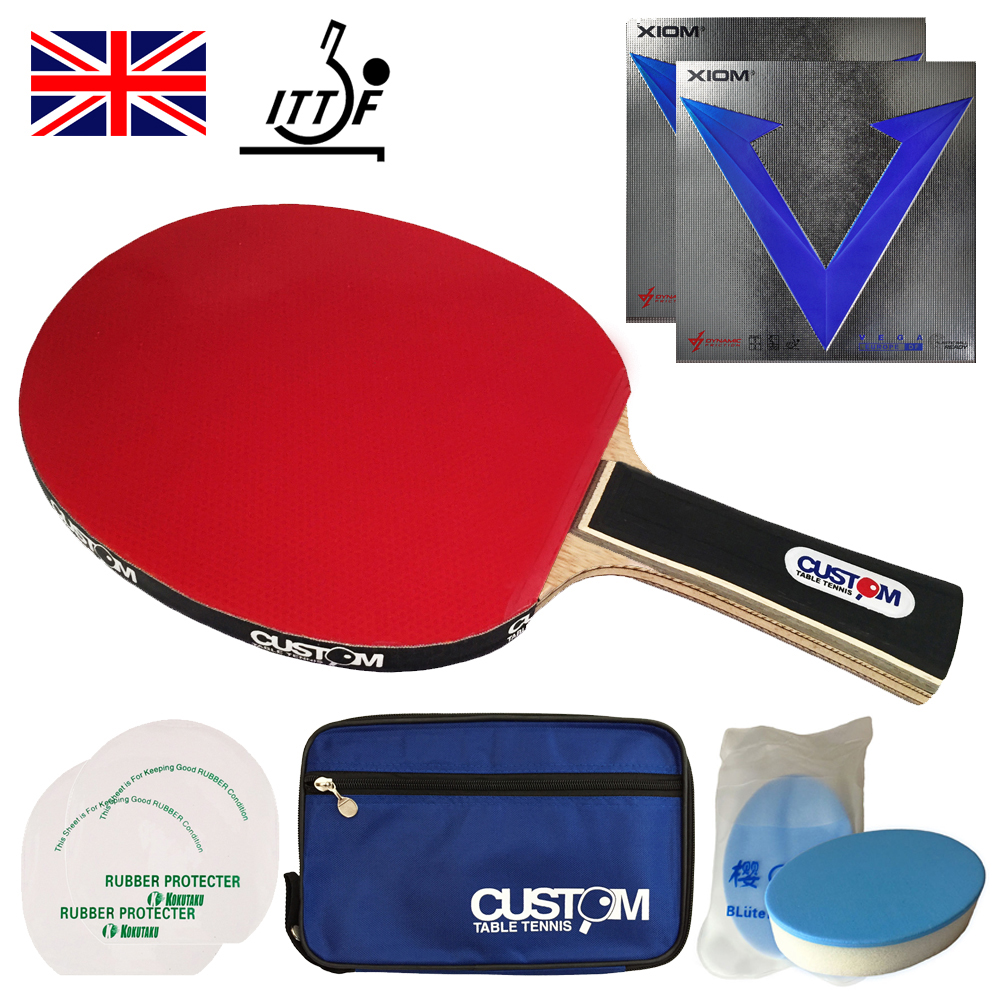XIOM Vega DF Table Tennis Bat XIOM Classic Allround S